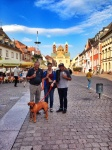 Hans, cat, and I in speyer
