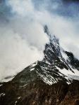 The Matterhorn playing hide and seek