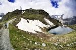 Start of our Matterhorn hike/ nature excursion in zermatt